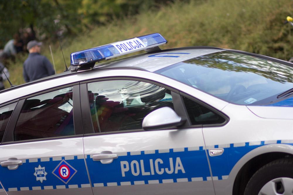 Marsz Równości 2016 radiowozy policyjne - Tomasz Żmudziński