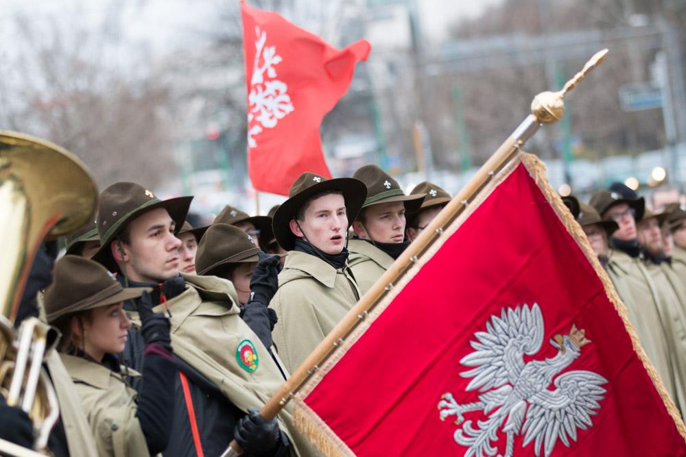 powstanie wielkopolskie obchody poznań 2016 - Wojtek Wardejn