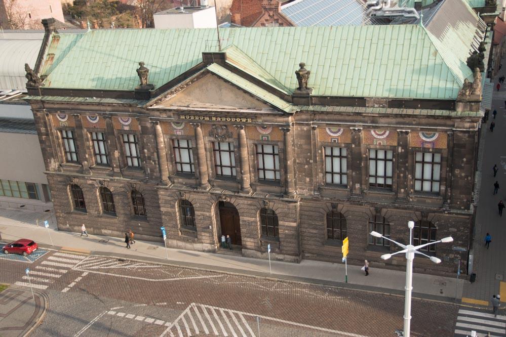 poznań panorama widok muzeum narodowe - Leon Bielewicz