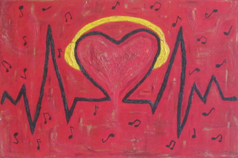 """Gdy w sercu kwitnie muzyka IM-PULS - Centrum Środowiskowy Dom Samopomocy """"Gdy w sercu kwitnie muzyka"""" dzieło:IM-PULS autorzy: """"IM-PULS"""" (autorzy: Sabina Dutka i Michał Hybel)"""
