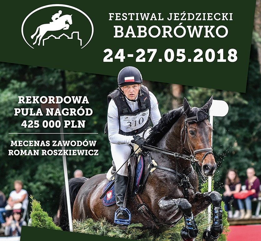 festiwal jeździecki baborówko plakat - Festiwal Jeździecki Baborówko