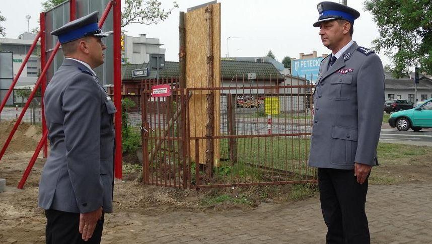 policja akt erekcyjny Nowy Tomyśl - Słuchacz