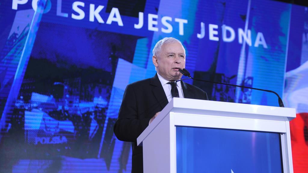 jarosław kaczyński podczas konwentu PiS partia - http://pis.org.pl