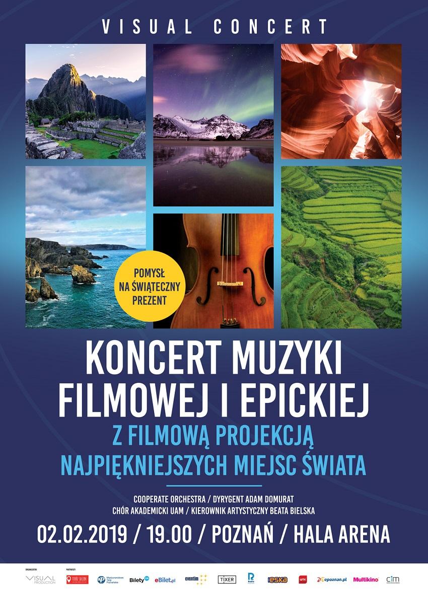 VISUAL CONCERT 2019 koncert muzyki filmowej i epickiej - Materiały prasowe
