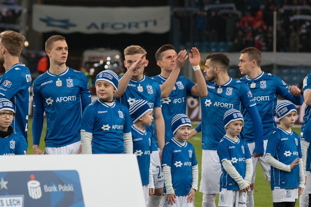 Lech Legia mecz kolejorz - Leon Bielewicz