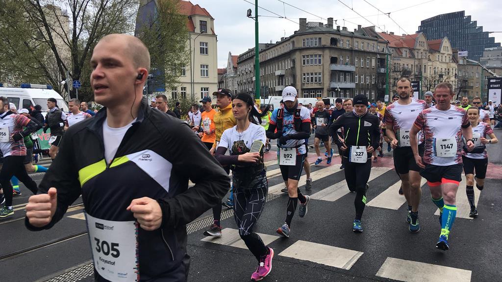 półmaraton pko poznań 12 edycja - Adam Michalkiewicz