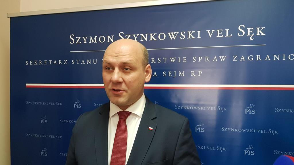 szymon szynkowski vel sęk - Hubert Jach