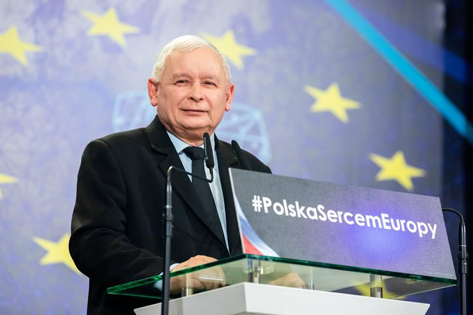 pis konwencja poznań Jarosław Kaczyński - FB: Prawo i Sprawiedliwość