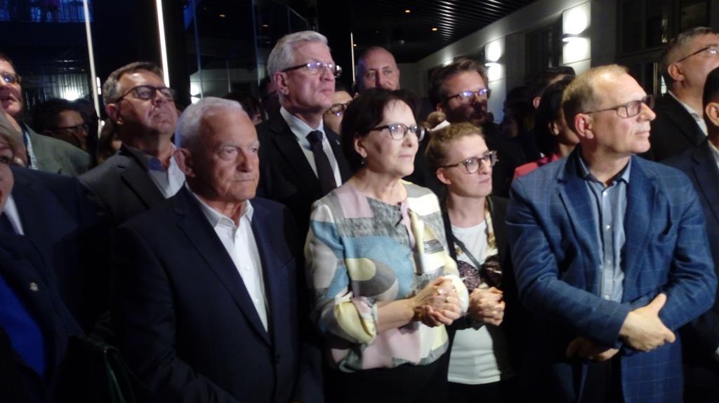 Koalicja Europejska sztab wyborczy wybory do parlamentu europejskiego - Leon Bielewicz