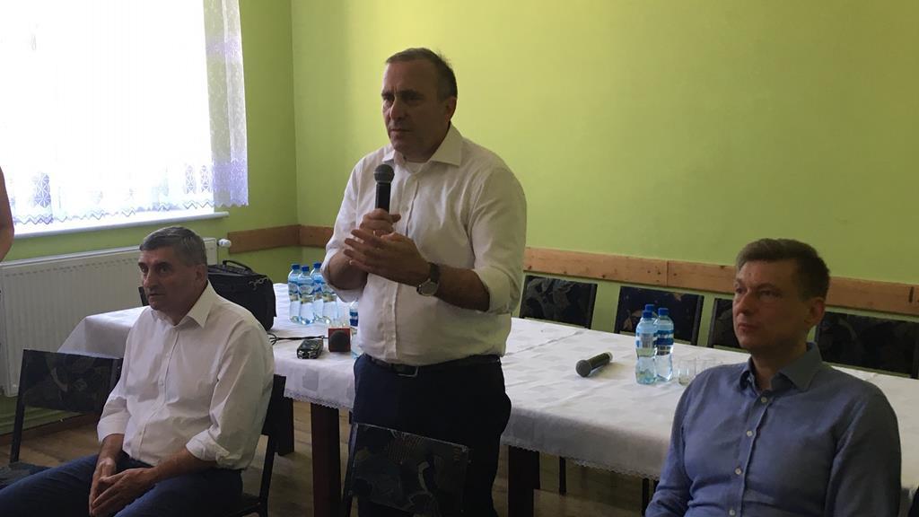 Grzegorz Schetyna w Gołaszynie k. Rawicza  - Jacek Marciniak
