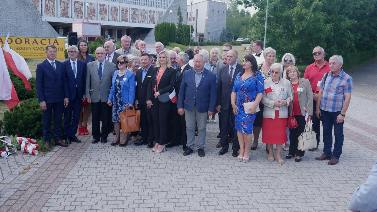 uroczystości 76 rocznica Rzezi Wołyńskiej Konin - Sławomir Zasadzki