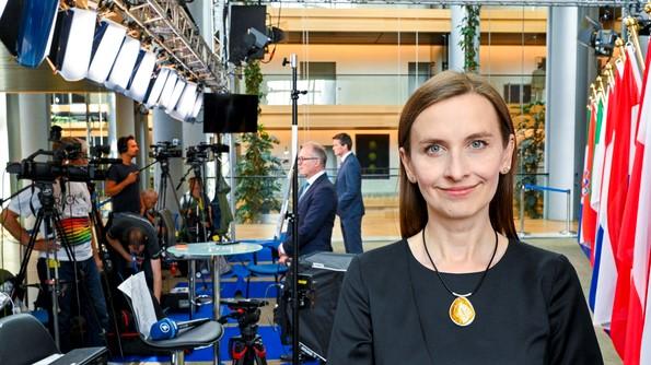 eurodeputowana Spurek - Europarlament