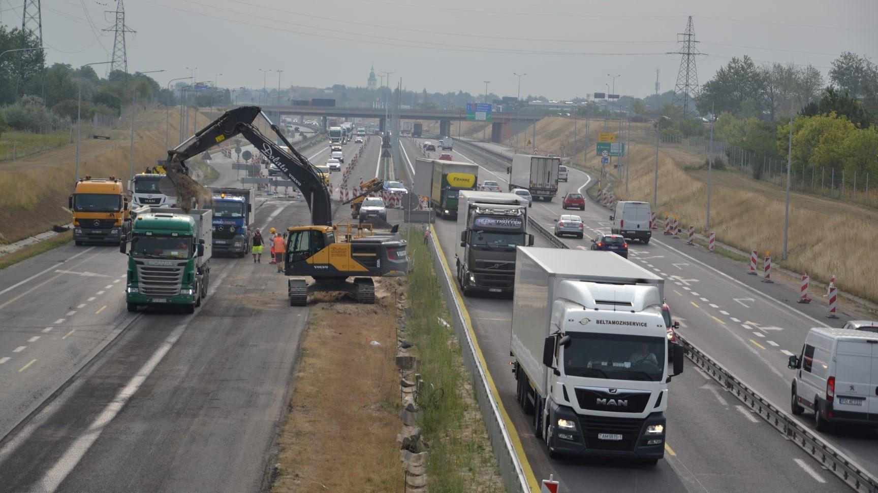 rozbudowa A2 - FB: Autostrady Polska