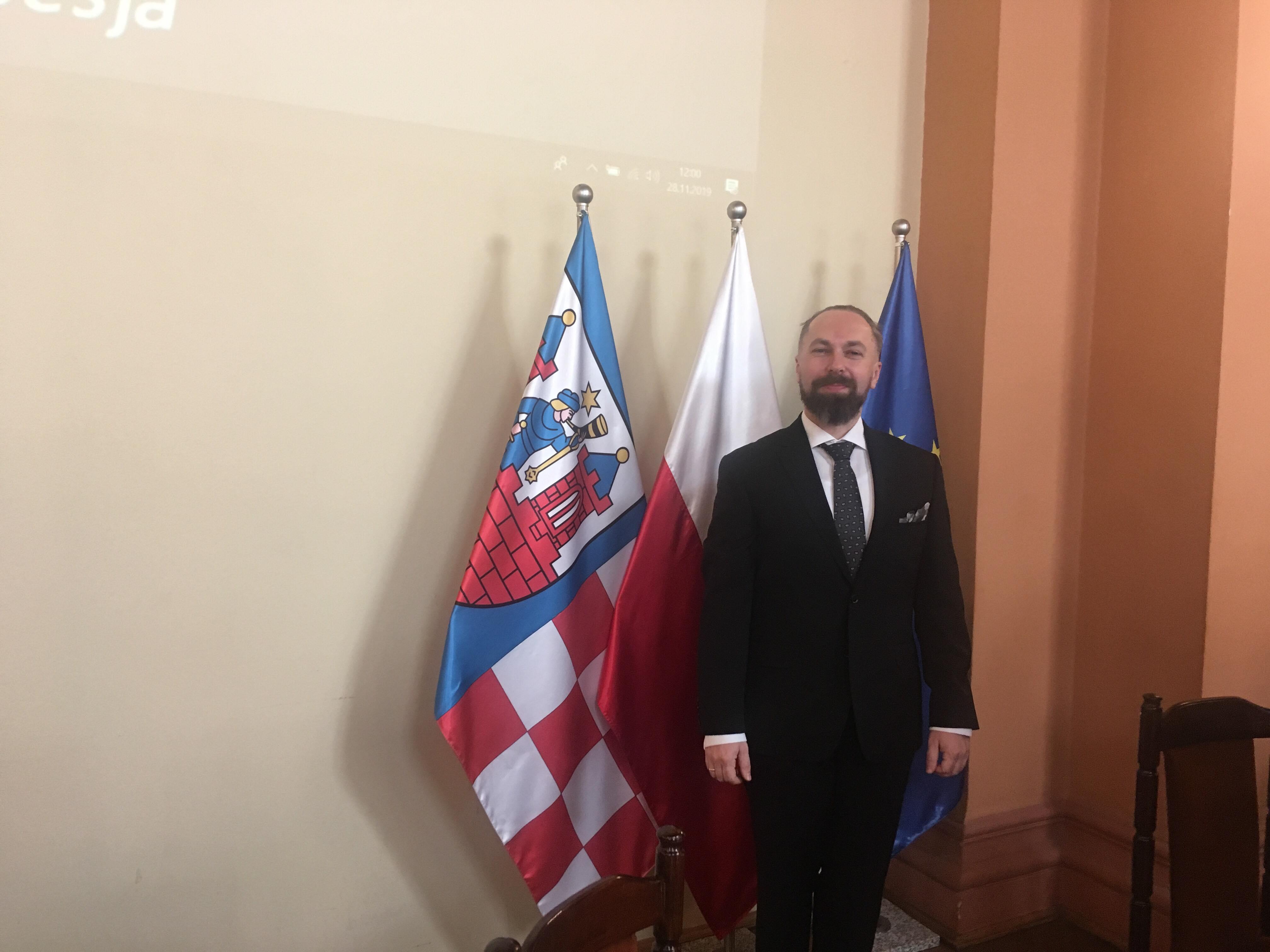 Tadeusz Skarzyński przewodniczący rady kalisz - Danuta Synkiewicz