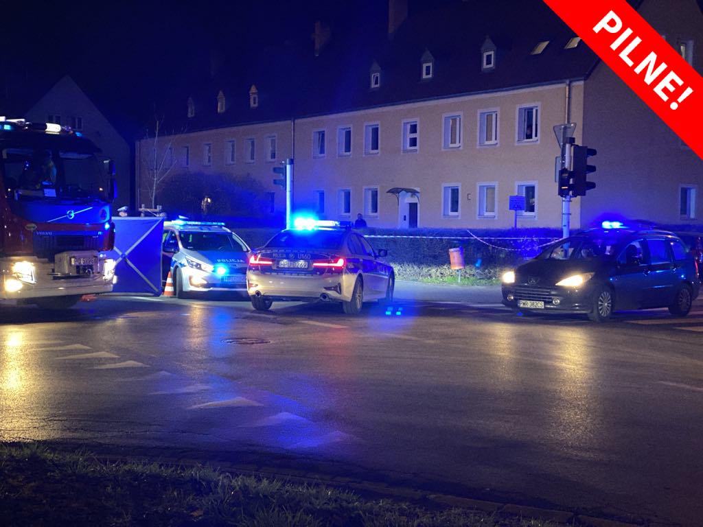 wypadek ulica opolska potrącenie pilne - Michał Jędrkowiak - Radio Poznań