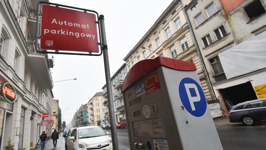 parkomat strefa - Wojtek Wardejn