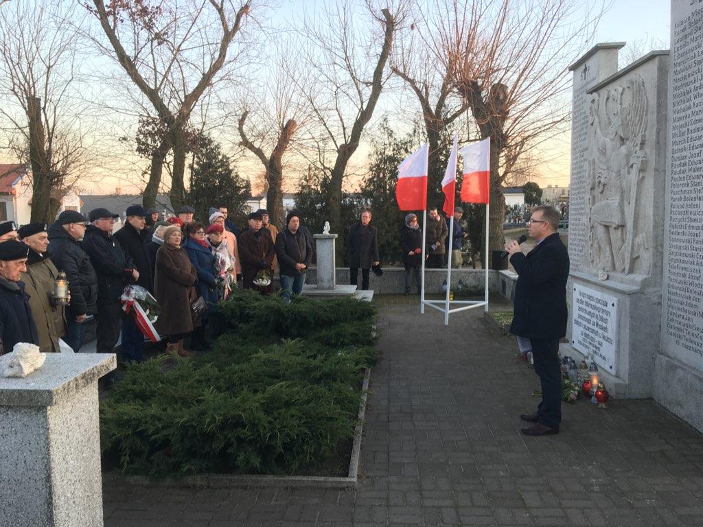Lewica w Gnieźnie uczciła wyzwolenie miasta spod okupacji hitlerowskiej - Rafał Muniak