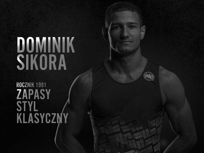 Dominik Sikora zapaśnik - KS Sobieski Poznań
