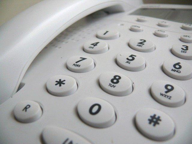 telefon stacjonarny  - Pixabay