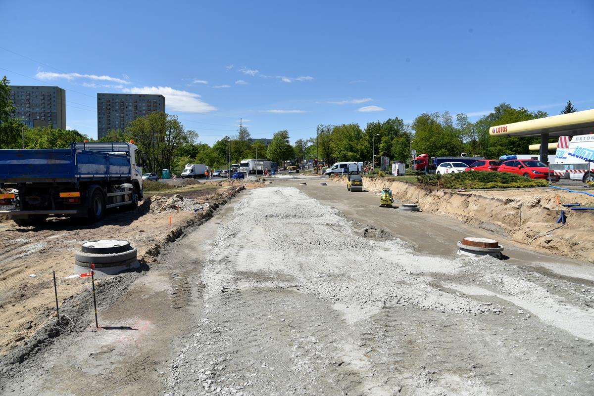 tramwaj naramowice budowa remont droga - Miasto Poznań