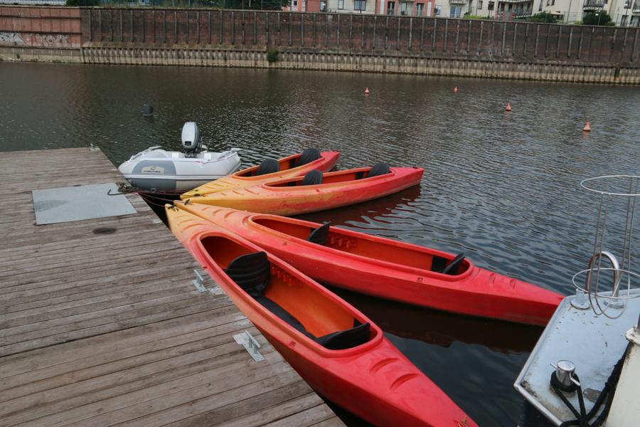 wypożyczalnia sprzętu wodnego motorówki łodzie łódź motorówka - Leon Bielewicz - Radio Poznań