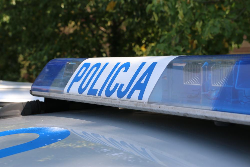 policja detal alarm znak - Leon Bielewicz - Radio Poznań