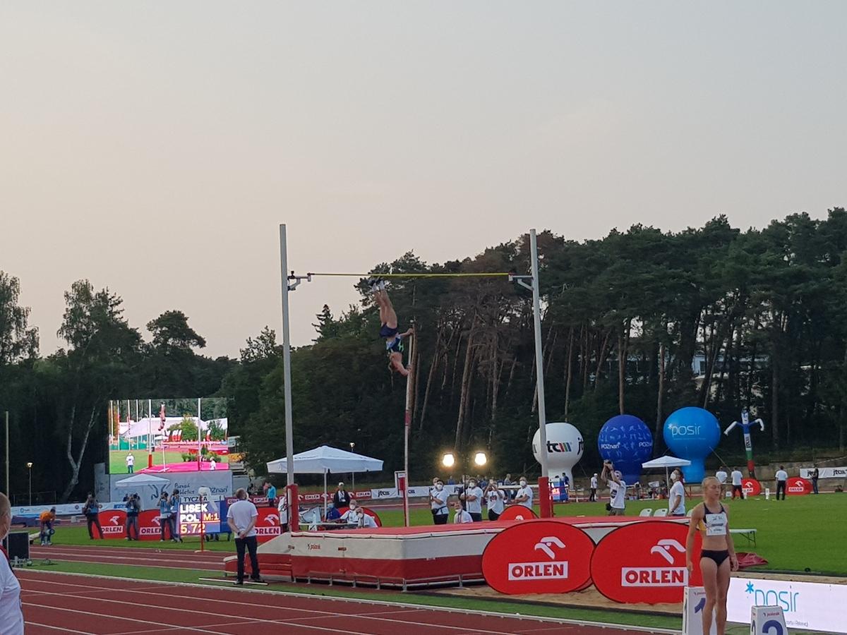 piotr lisek mityng poznan athletics grand prix golecin 2020 - Grzegorz Hałasik - Radio Poznań