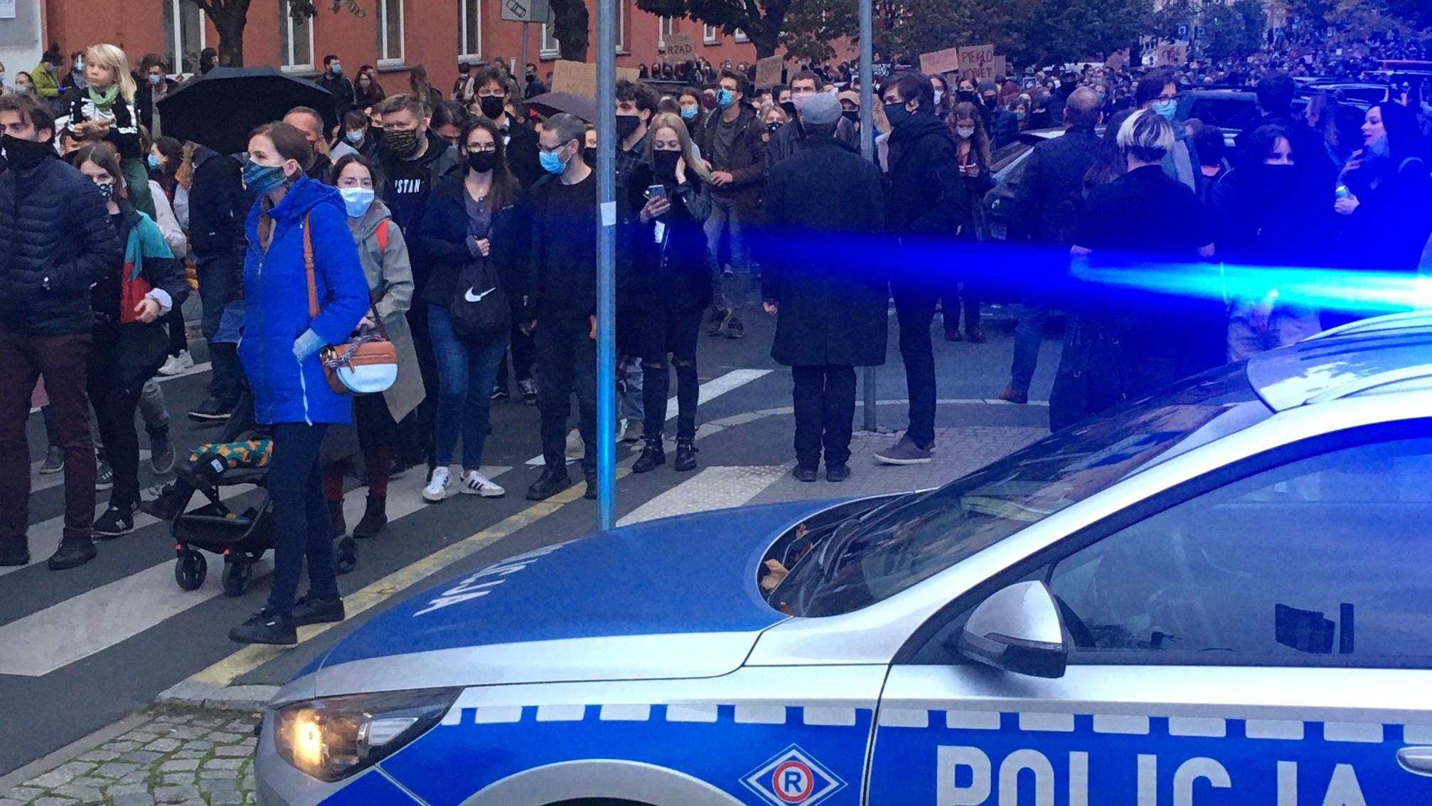 protest aborcja - Jacek Butlewski - Radio Poznań