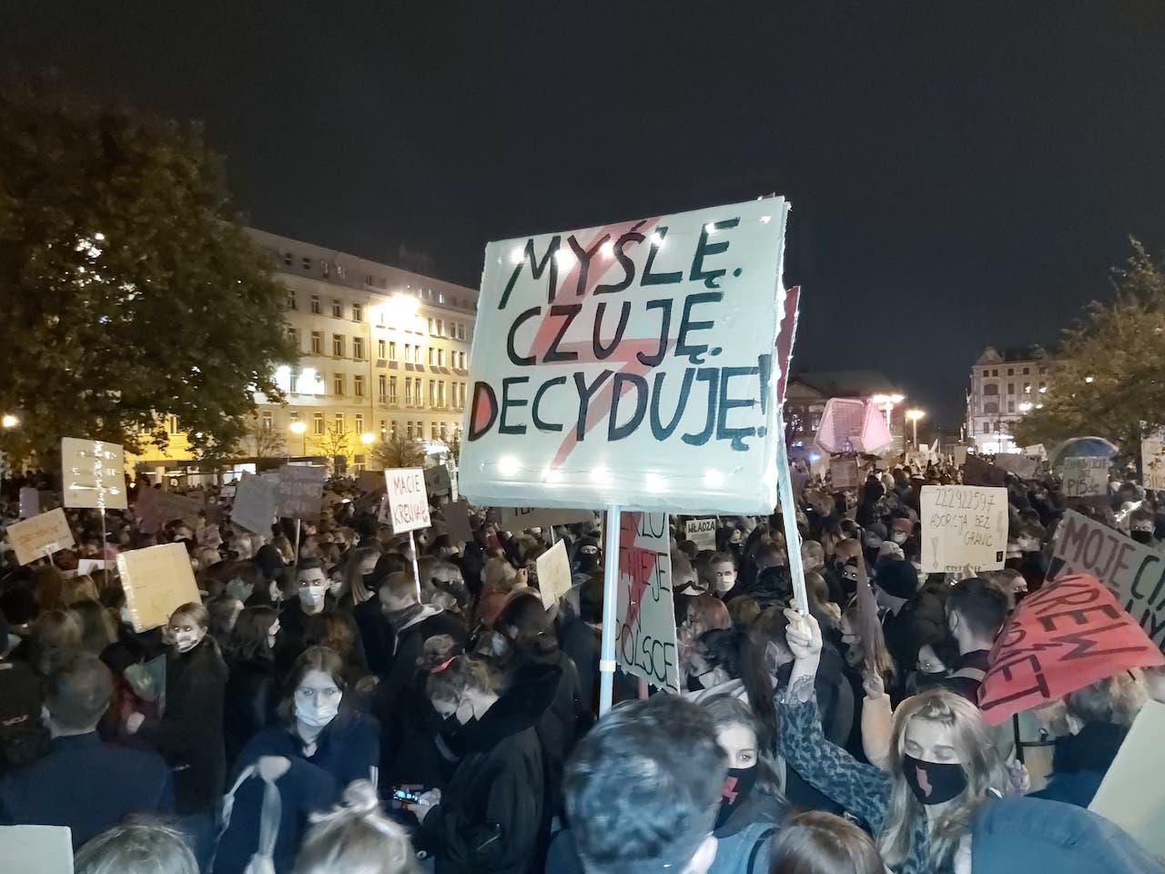 protest plac wolności - Krzysztof Polasik - Radio Poznań