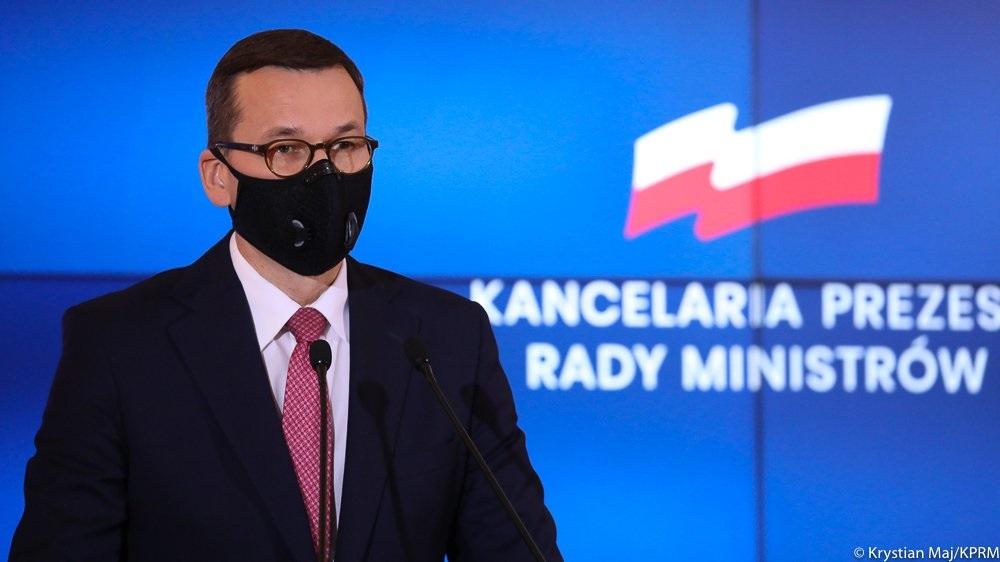 szczepionka premier morawieci - KPRM