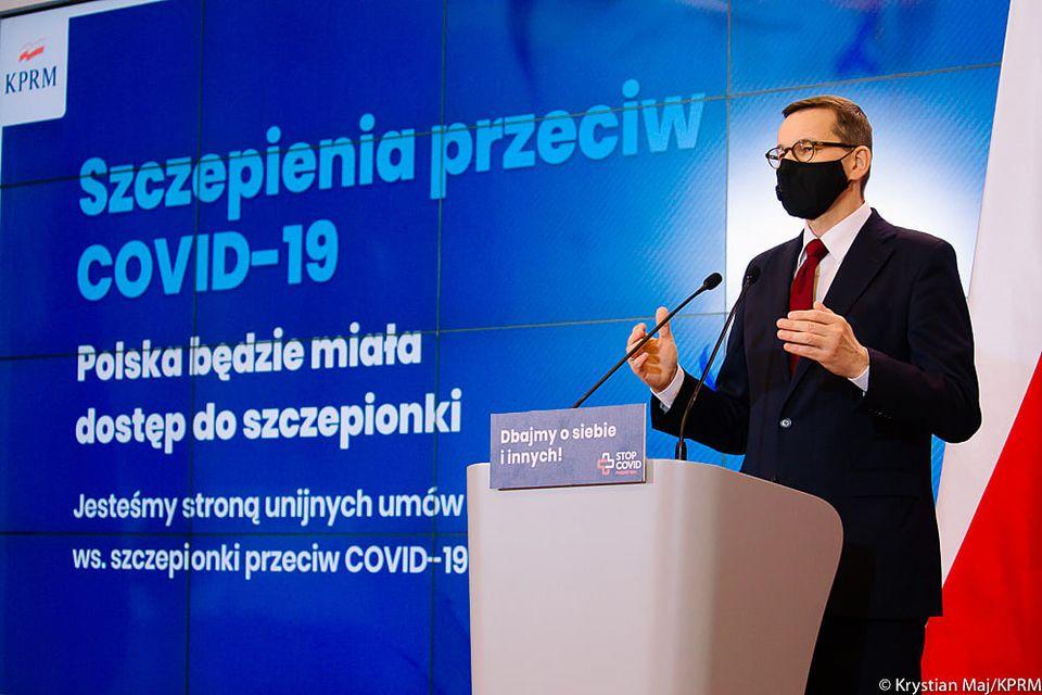 premier o szczepionce przeciwko covid - KRPM