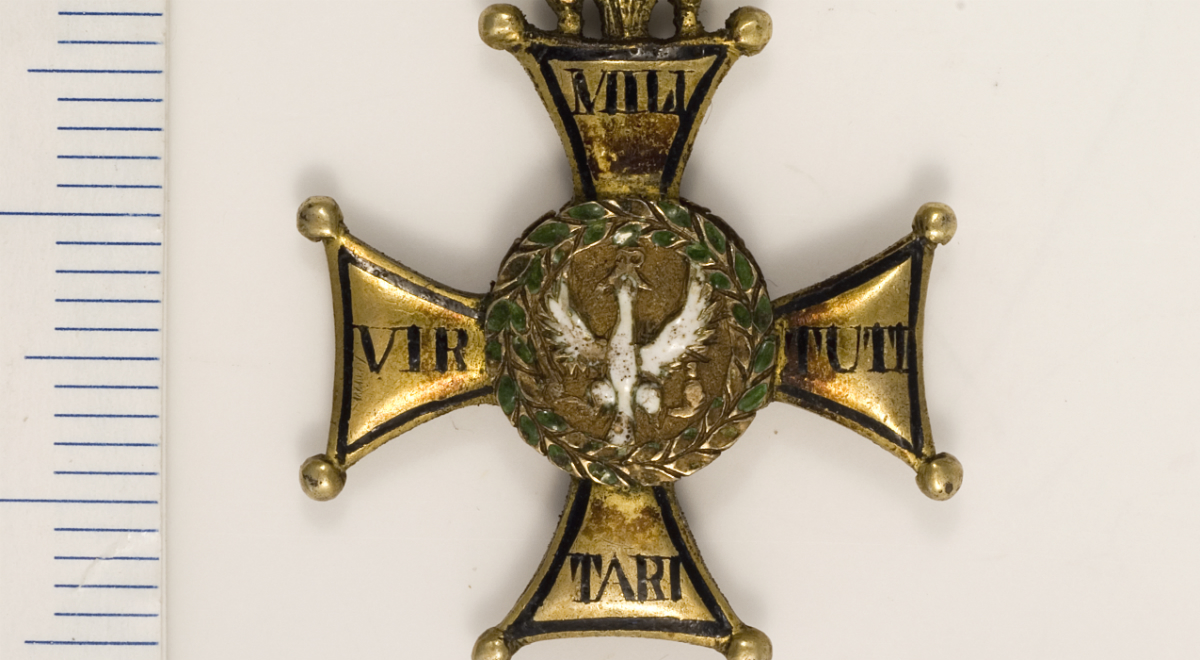 order virtuti militari  -  Archiwum Główne Akt Dawnych/Wikimedia Commons