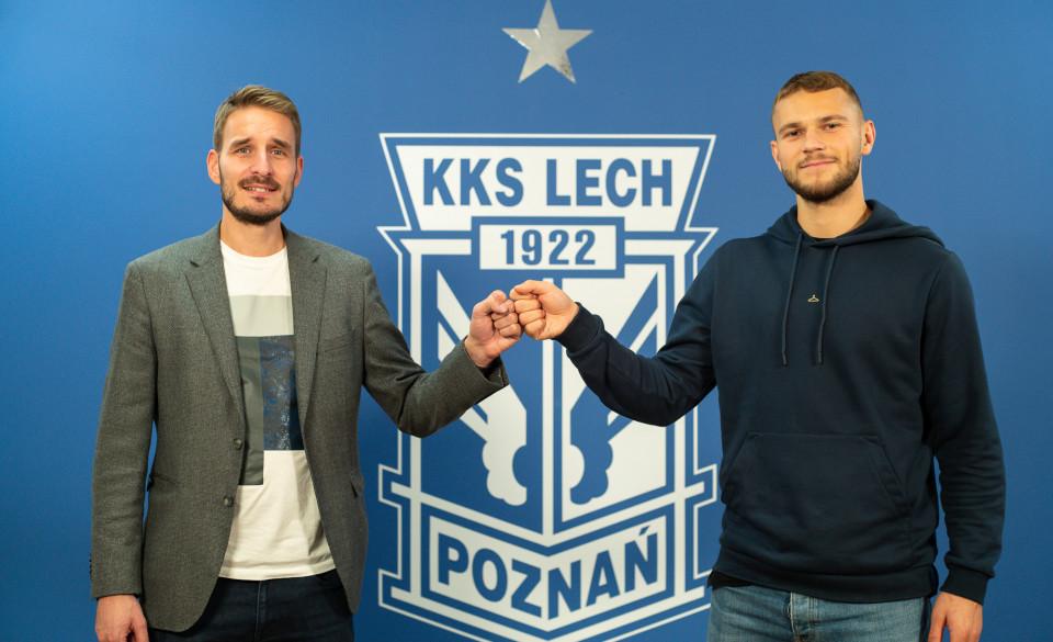 Jesper Karlstroem  - Lech Poznań/Przemysław Szyszka