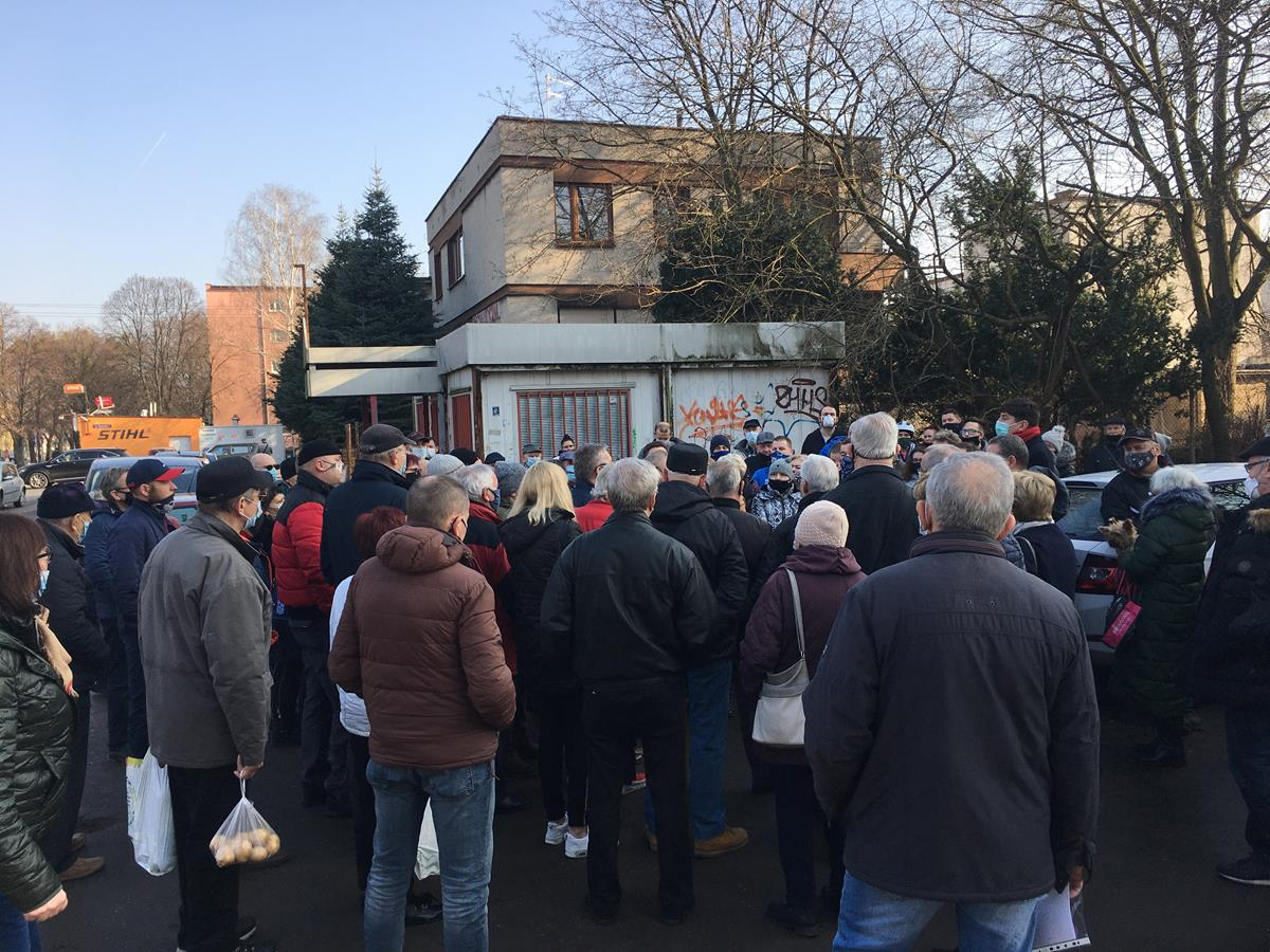 swoboda protest grunwald - Adam Michalkiewicz - Radio Poznań