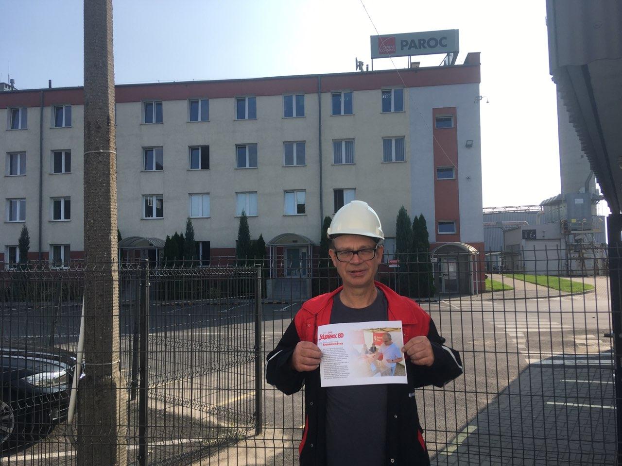 paroc trzemeszno strajk generalny  - Rafał Muniak
