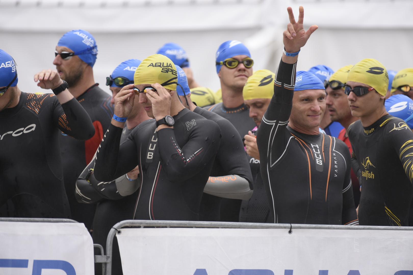 Triathlon Poznań 2021 - Wojtek Wardejn