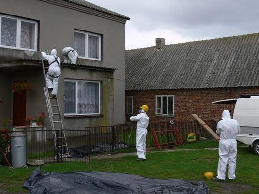 Usuwanie azbestu z budynków - Iwona Krzyżak