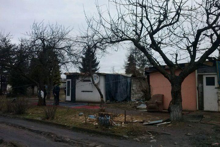 altany zajęte przez romów na umultowie - Magda Konieczna