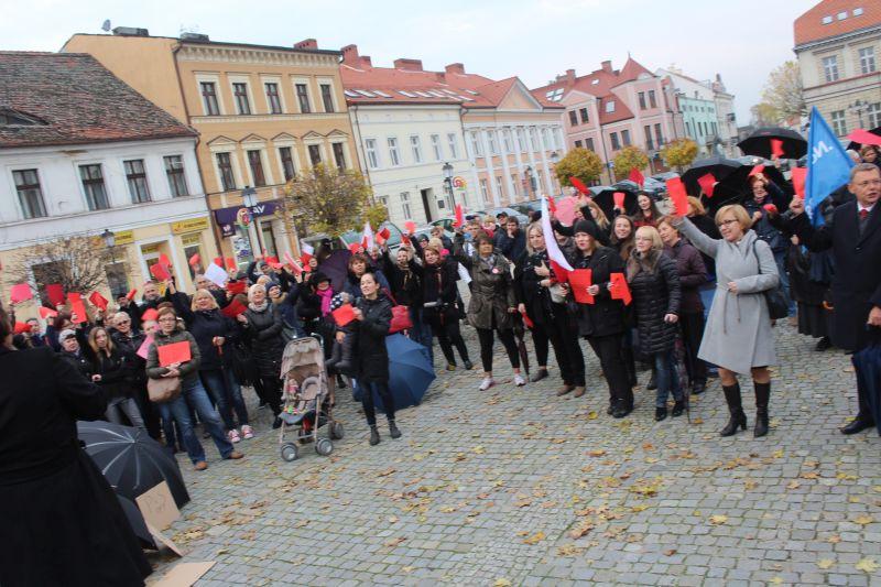 strajk kobiet konin - Aleksandra Braciszewska-Benkahla