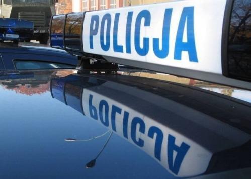 Radiowóz policyjny - policja