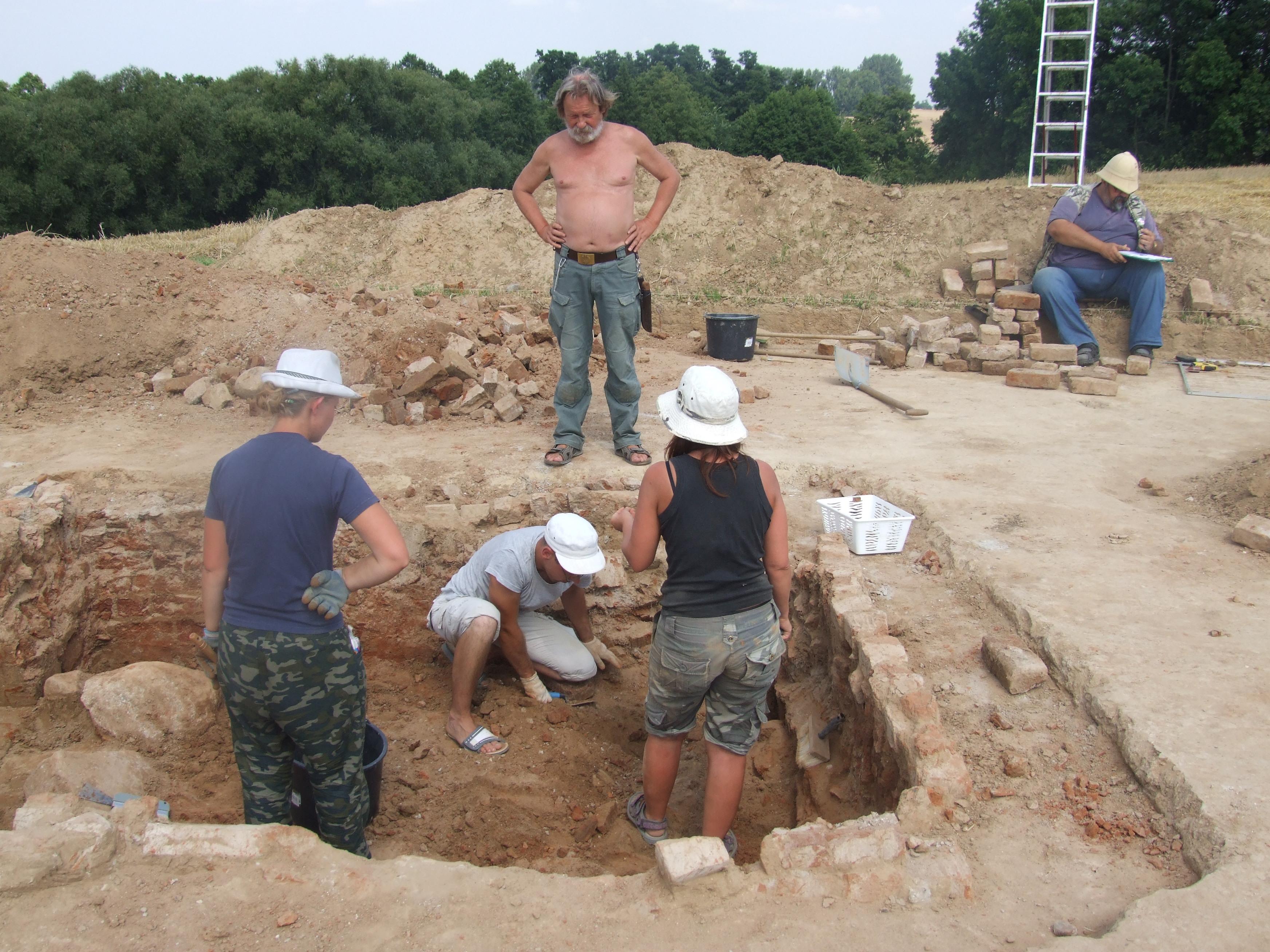 obóz_archeolog_rękawczyn_konin - Aleksandra Braciszewska-Benkahla