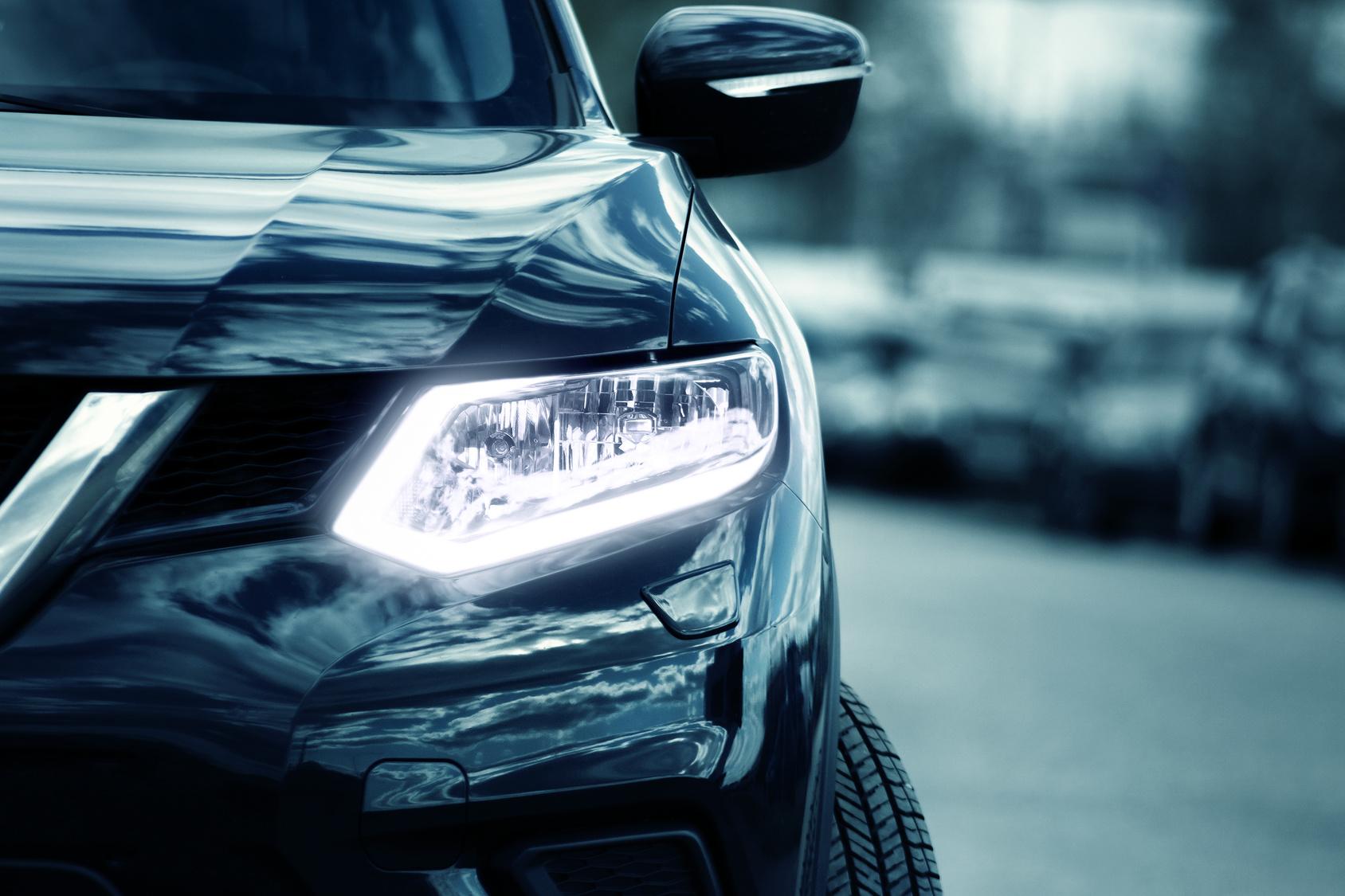 światło samochód reflektor - Fotolia