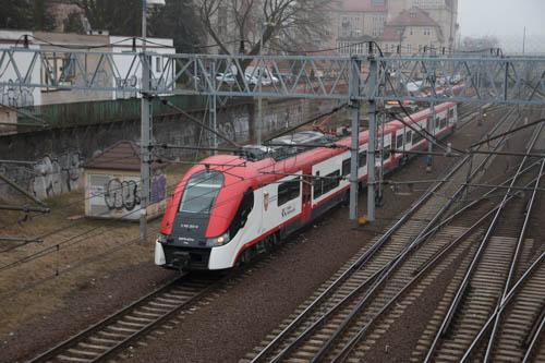 pociągi tory koleje wielkopolskie poznań główny - Tomasz Żmudziński