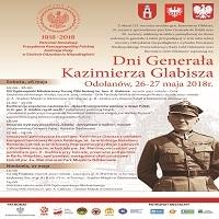 26-27 MAJA, DNI GENERAŁA KAZIMIERZA GLABISZA