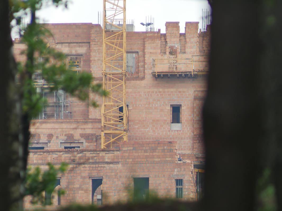 zamek stobnica budowa - Kacper Witt