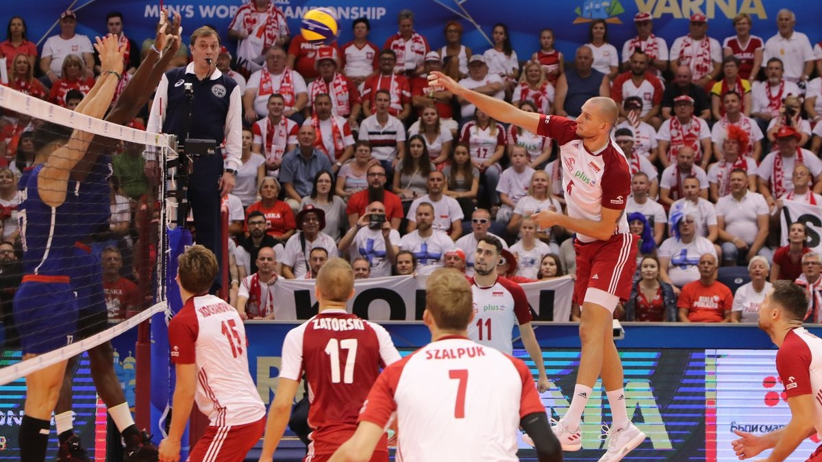 polscy siatkarze mecz z kubą - twitter: @PolskaSiatkowka
