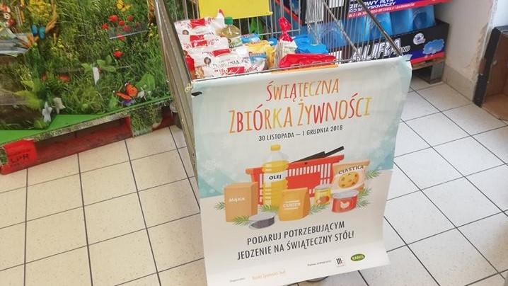 Bank Żywności zbiórka żywności - FB: Bank Żywności w Poznaniu