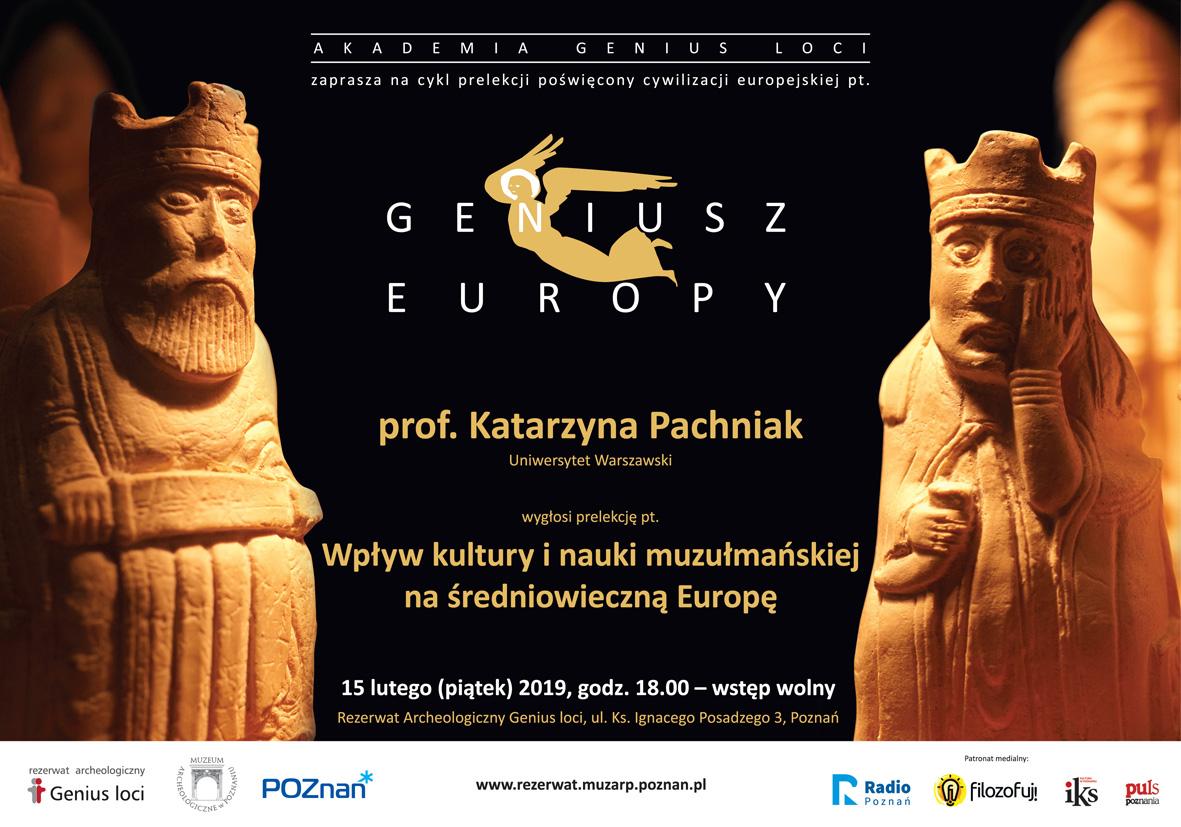 Geniusz  Europy zaproszenie - Materiały prasowe