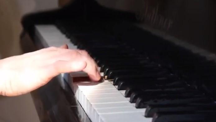 granie na fortepianie  - Kacper Witt