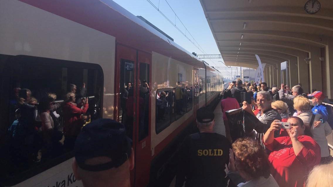 kalisz pociąg elf - Danuta Synkiewicz